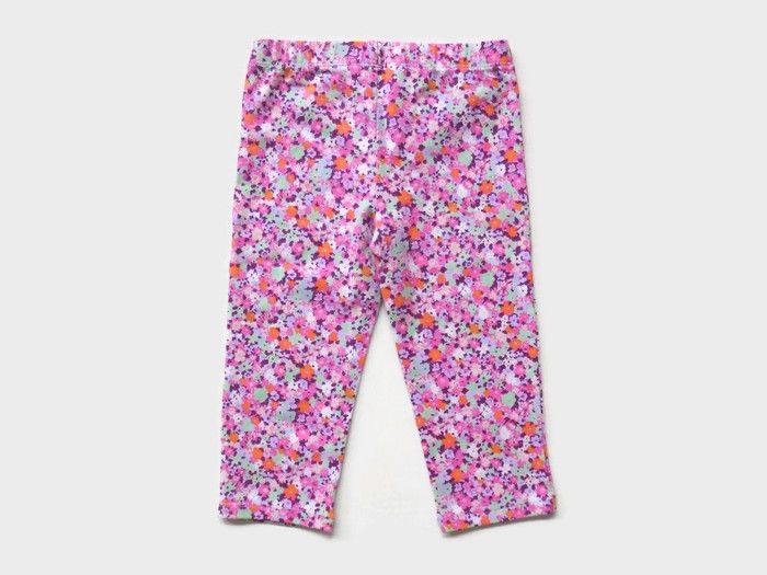 Legging-Anak-Branded-Faded-Glory-7-8-Flower-Pink