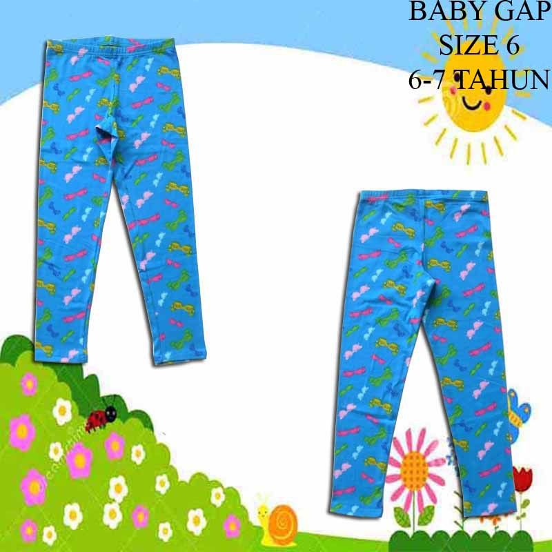 Legging-Anak-Branded-Baby-Gap-Glasses-Blue