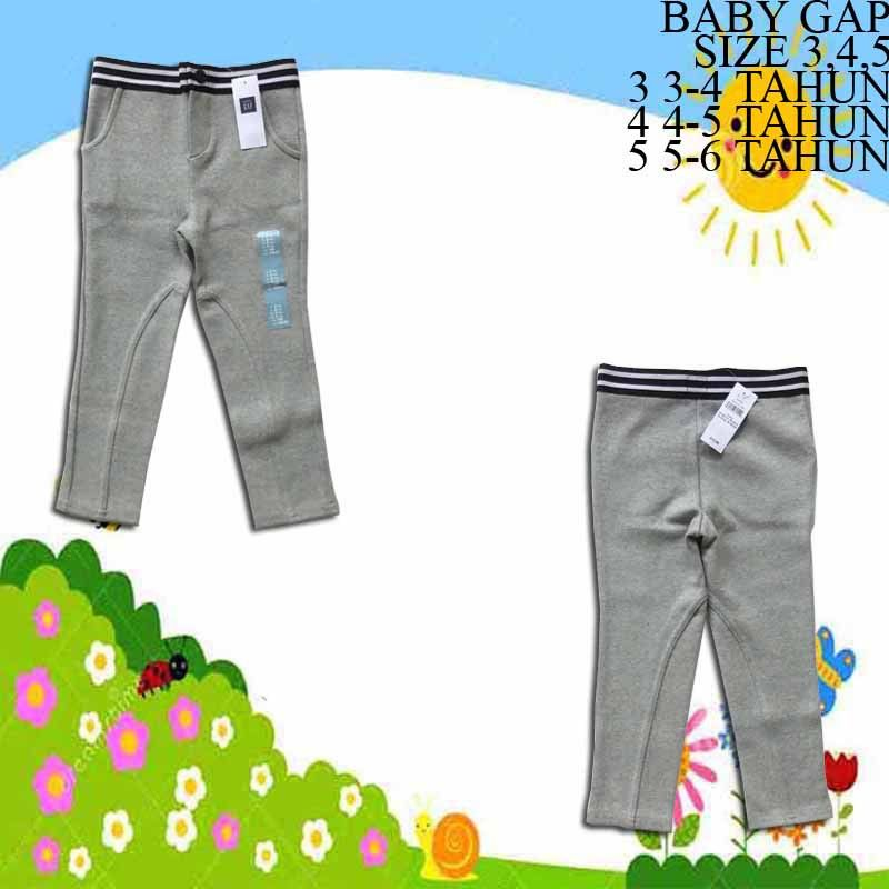 Legging-Anak-Branded-Baby-Gap-Abu