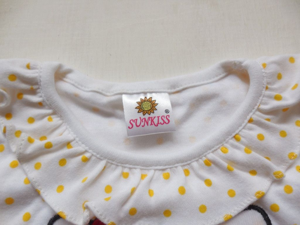 Baju-Bayi-Perempuan-Dress-SUNKISS-Hello-Kitty-Kuning-ada-CD