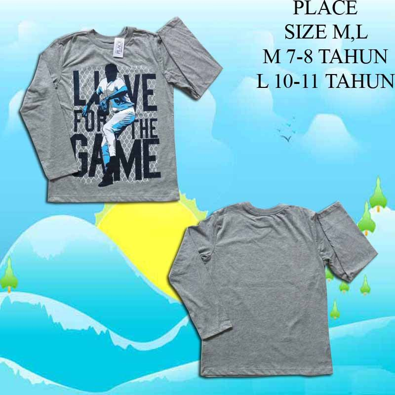 Baju-Anak-Branded-Kaos-PLACE-Love-Game-Lpj-Abu