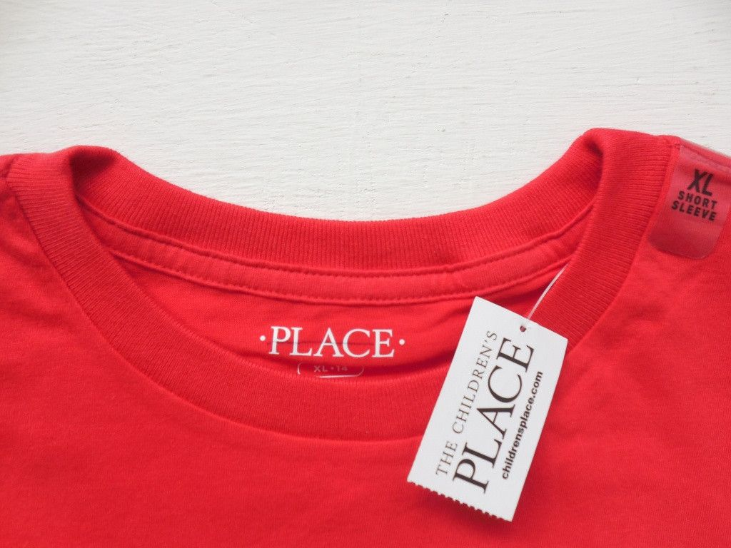 Baju-Anak-Branded-Kaos-PLACE-Week-End-Merah