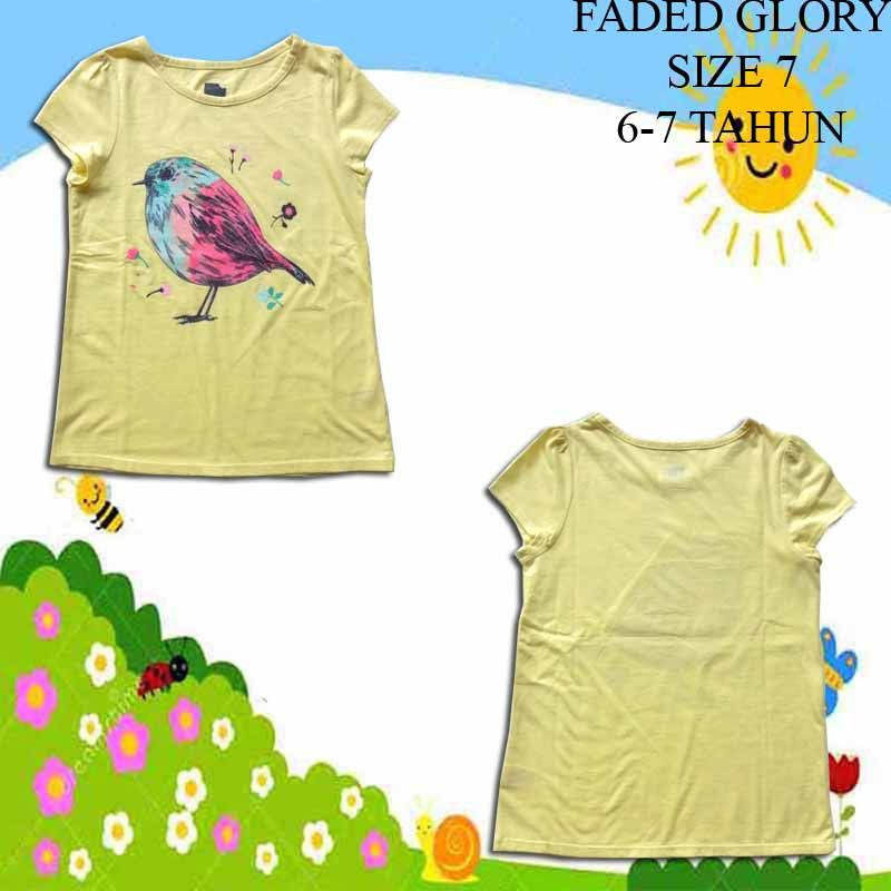 Baju-Anak-Branded-Faded-Glory-Kuning-Burung