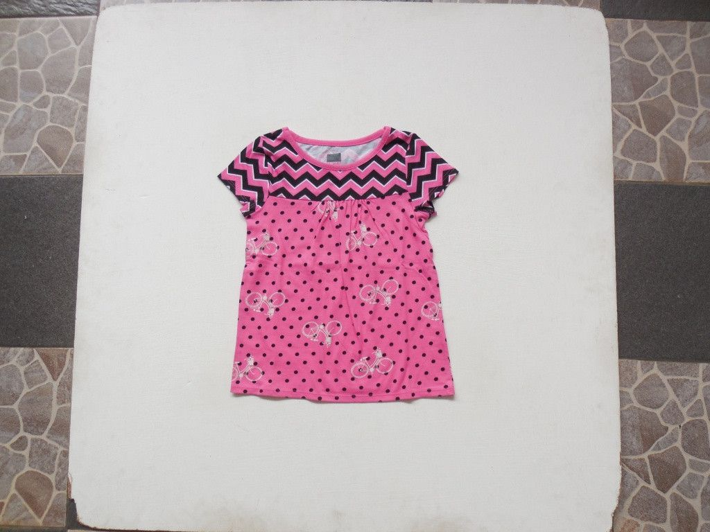 Baju-Anak-Branded-Atasan-Faded-Glory-Pink-Polka