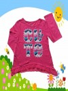 Baju Anak Branded Atasan Faded Glory Cute Merah Muda