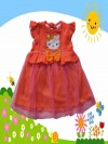 Baju Bayi Lucu Dress Bayi Tutu Hello Kitty