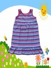 Dress Anak Murah Bobbie Brooks Salur Warna