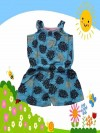 Dress Anak Branded Jumpsuit Circo Biru Flower