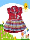 Dress Anak Perempuan Shen Kids Butterfly Merah