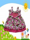 Dress Anak Murah MK Flower Pink