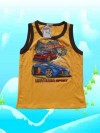 Baju Anak Laki-Laki Golden Boy Cars Hotweels Kuning