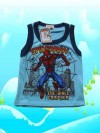 Baju Bayi Murah Golden Boy Spiderman Biru K