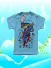 Baju Bayi Murah Golden Boy Superman Biru